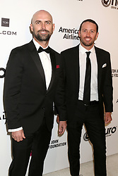 February 24, 2019 - West Hollywood, CA, USA - LOS ANGELES - FEB 24:  Mike Buckley, Taylor Canfield at the Elton John Oscar Viewing Party on the West Hollywood Park on February 24, 2019 in West Hollywood, CA (Credit Image: © Kay Blake/ZUMA Wire)