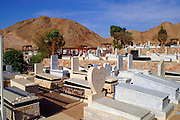 The Jewish cemetery in Eilat, pop. 55,000, is Israel's southernmost city in the Southern District of Israel. Adjacent to the Egyptian city of Taba and Jordanian port city of Aqaba, Eilat is located at the northern tip of the Gulf of Aqaba, which is the eastern sleeve of the Red Sea.