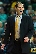 WACO, TX - JANUARY 24: Baylor Bears head coach Scott Drew looks on against the Oklahoma Sooners on January 24, 2015 at the Ferrell Center in Waco, Texas.  (Photo by Cooper Neill/Getty Images) *** Local Caption *** Scott Drew