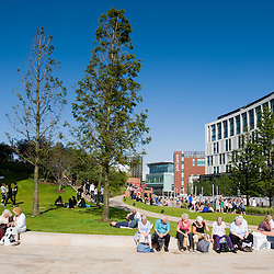 Chavasse Park on a warm summers day