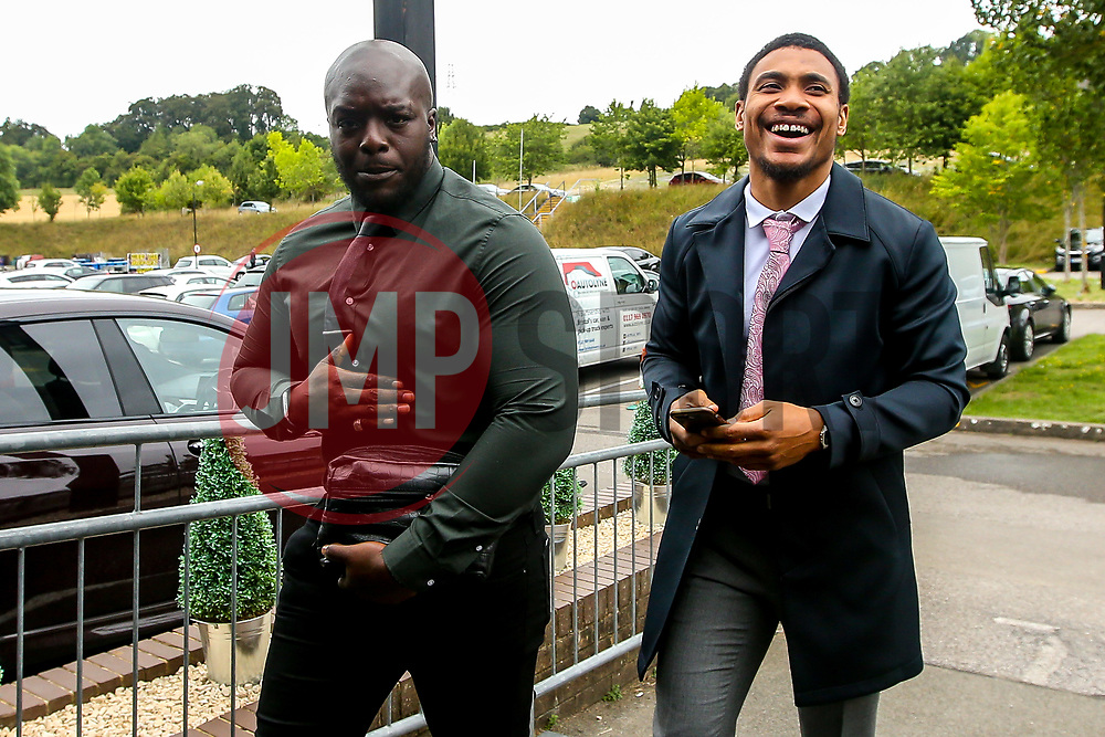 Adebayo Akinfenwa of Wycombe Wanderers arrives at Adams Park - Mandatory by-line: Robbie Stephenson/JMP - 18/08/2018 - FOOTBALL - Adam's Park - High Wycombe, England - Wycombe Wanderers v Bristol Rovers - Sky Bet League One