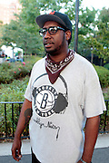 """August 27, 2016- Brooklyn, New York-United States: Designer/Producer Paul Jennings attends the 2016 AfroPunk Brooklyn Concert Series held at Commodore Barry Park on August 27, 2016 in Brooklyn, New York City. Described by some as """"the most multicultural festival in the US,"""" which includes an eclectic line-up and an audience as diverse as the acts they come to see. (Photo by Terrence Jennings/terrencejennings.com)"""