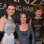 NLD/Amsterdam/20140311 - Modeshow Addy van den Krommenacker 2014, Prinses Aimee Söhngen, Prinses Margarita de Bourbon de Parme en Janna Fassaert