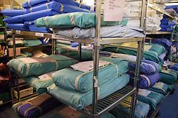 Sterile storeroom in hospital,