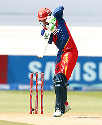 Rassie van der Dussen of the Bizhub Highveld Lions during the T20 Challenge cricket match between the Lions and the Warriors at the Kingsmead stadium in Durban, KwaZulu Natal, South Africa on the 4th December 2016<br /> <br /> Photo by:   Steve Haag / Real Time Images