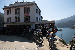 Our first rest stop of the trip during Day-1 of our Himalayan Heroes adventure riding from Kathmandu to Daman, Nepal. Tuesday, November 6, 2018. Photography ©2018 Michael Lichter.