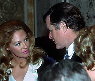 Washington, DC  1972/01/12 Joan and Ted kennedy in january 1972<br /><br />Photo by Dennis Brack B 3