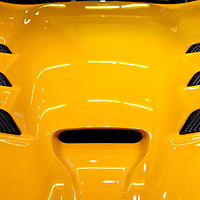 """""""2013 SRT Viper Hood""""<br /> <br /> A beautiful, and cool image verging on abstract! The awesome 2013 SRT Viper hood!!<br /> <br /> Cars and their Details by Rachel Cohen"""