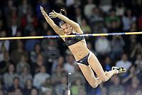Yelena Isinbayeva (RUS) beim Stabhochsprung mit neuem Weltrekord © Melanie Duchene/EQ Images
