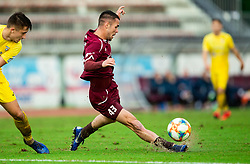 David Tijanić of Triglav during football match between NK Triglav Kranj and NK Domzale in 35th Round of Prva liga Telekom Slovenije 2018/19, on May 22nd, 2019, in Sports park Kranj, Slovenia. Photo by Vid Ponikvar / Sportida