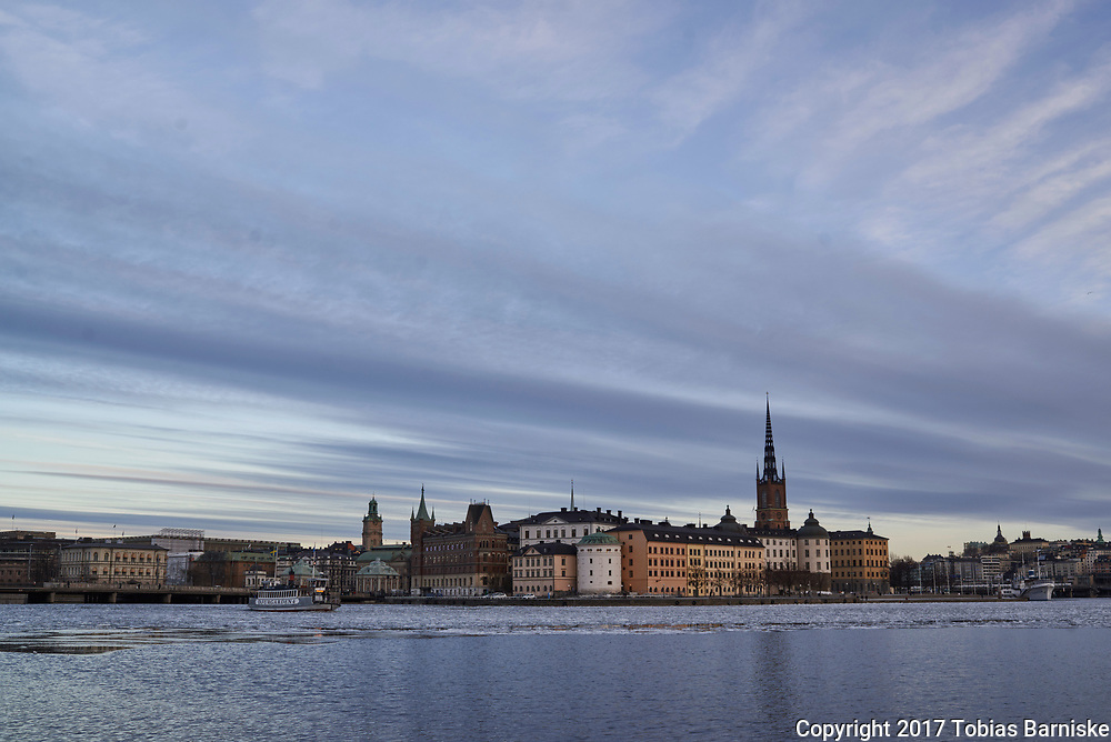 The island Riddarholmen, seen from the town hall.
