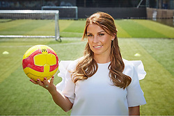 """Coleen Rooney releases a photo on Twitter with the following caption: """"""""The @FA & McDonald's Grassroots Football Awards are back for another year! And I'm helping @BetterPlayUK recognise the 2018 #grassroots heroes. Nominate your grassroots hero here: https://t.co/3jUqub7hSh #ad"""""""". Photo Credit: Twitter *** No USA Distribution *** For Editorial Use Only *** Not to be Published in Books or Photo Books ***  Please note: Fees charged by the agency are for the agency's services only, and do not, nor are they intended to, convey to the user any ownership of Copyright or License in the material. The agency does not claim any ownership including but not limited to Copyright or License in the attached material. By publishing this material you expressly agree to indemnify and to hold the agency and its directors, shareholders and employees harmless from any loss, claims, damages, demands, expenses (including legal fees), or any causes of action or allegation against the agency arising out of or connected in any way with publication of the material."""