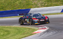 11.06.2017, Red Bull Ring, Spielberg, AUT, ADAC GT Masters, Spielberg, 2. Rennen, im Bild Markus Pommer (GER)/Kelvin van der Linde (ZAF) Aust Motorsport // German ADAC GT Masters driver Markus Pommer/South African ADAC GT Masters driver Kelvin van der Linde of Aust Motorsport during the 2nd race of the ADAC GT Masters at the Red Bull Ring in Spielberg, Austria on 2017/06/11. EXPA Pictures © 2017, PhotoCredit: EXPA/ Dominik Angerer
