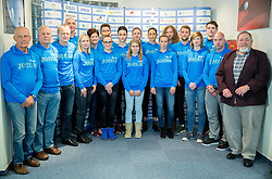 Press conference when Slovenian athletes and their coaches sign contracts with Athletic federation of Slovenia for year 2016, on February 25, 2016 in AZS, Ljubljana, Slovenia. Photo by Vid Ponikvar / Sportida