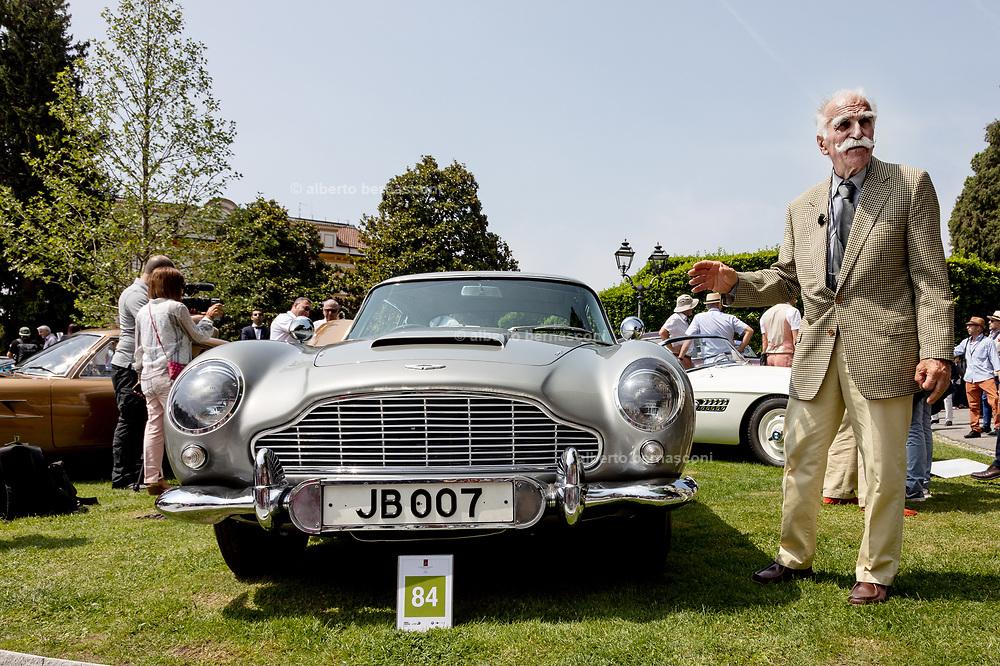 Como, Italy, Concorso d'Eleganza Villa D'Este, James Bond Car, Aston Martin DB 5