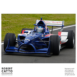 Ryan Hunter-Reay at the A1 Grand Prix of New Zealand at the Taupo Motorsport Park, Taupo, New Zealand.