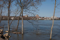 High Water, Connecticut River, Middletown, CT.