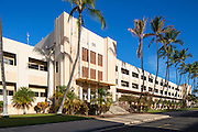 Building 51, Barracks, Ford Island, Pearl Harbor, Oahu, Hawaii