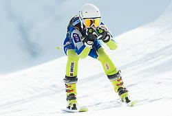 PEZDICEK Lucija  of Slovenia during Women's Super Combined Slovenian National Championship 2014, on April 1, 2014 in Krvavec, Slovenia. Photo by Vid Ponikvar / Sportida
