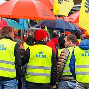 20150326 FNV protestactie KLM