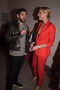 GEORGE HOWARD; OTTOLIE WINDSOR, Serpentine Gallery and Harrods host the Future Contempories Party 2016. Serpentine Sackler Gallery. London. 20 February 2016