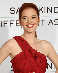 October 12, 2017 - Los Angeles, California, USA - SARAH DREW appears on the Red Carpet for the 'Same Kind Of Different As Me' Los Angeles Premiere at the Westwood Village Theatre. (Credit Image: © Billy Bennight via ZUMA Wire)