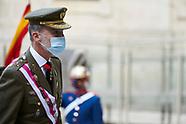 102720 King Felipe VI attends Celebration of the Royal and Military Order of San Hermenegildo