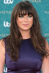 © Licensed to London News Pictures. 11/08/2016. EVE MYLES attends the VIP press screening of Victoria. The ITV series traces the early life of Queen Victoria, from her accession to the throne at the tender age of 18 through to her courtship and marriage to Prince Albert.  London, UK. Photo credit: Ray Tang/LNP