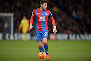 Joel Ward of Crystal Palace in action.Barclays Premier league match, Crystal Palace v Sunderland at Selhurst Park in London on Monday 23rd November 2015.<br /> pic by John Patrick Fletcher, Andrew Orchard sports photography.
