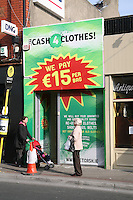 Cash 4 Clothes shop in Dun Laoghaire Dublin Ireland