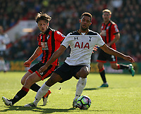 Football - 2016 / 2017 Premier League - AFC Bournemouth vs. Tottenham Hotspur<br /> <br /> Moussa Dembele of Tottenham Hotspur and Bournemouth's Harry Arter in action at Dean Court (The Vitality Stadium) Bournemouth<br /> <br /> COLORSPORT/SHAUN BOGGUST
