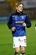 Ronan Darcy during the EFL Sky Bet League 2 match between Scunthorpe United and Bolton Wanderers at the Sands Venue Stadium, Scunthorpe, England on 24 November 2020.