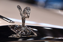 09 February 2017: Rollse Royce Phantom Drophead coupe<br /> <br /> First staged in 1901, the Chicago Auto Show is the largest auto show in North America and has been held more times than any other auto exposition on the continent.  It has been  presented by the Chicago Automobile Trade Association (CATA) since 1935.  It is held at McCormick Place, Chicago Illinois<br /> #CAS17