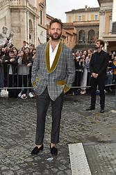 Rome, Piazza Del Campidoglio Event Gucci Parade at the Capitoline Museums, In the picture: Alessandro Borghi