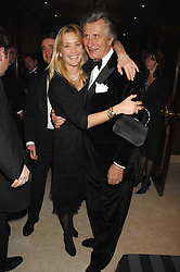 Left to right, ARNAUD BAMBERGER MD of Cartier UK and LUCY SANGSTER at the 17th annual Cartier Racing Awards 2007 held at the Four Seasons Hotel, Hamilton Place, London on 14th November 2007.<br />