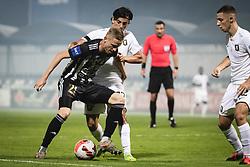 Zan Karnicnik of NS Mura during football match between NS Mura and Olimpija in 8th Round of Prva liga Telemach 2021/22, on 11 of September, 2021 in Fazanerija, Murska Sobota, Slovenia. Photo by Blaž Weindorfer / Sportida