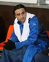 Photo: Maarten Straetemans/Sportsbeat Images.<br /> Anderlecht v Tottenham Hotspur. UEFA Cup. 06/12/2007.<br /> Dimitar Berbatov (Tottenham)