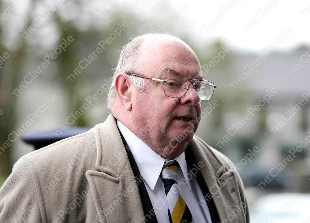 030209 Judge Paul Carney at Ennis Court today .Pic Arthur Ellis/Press 22.