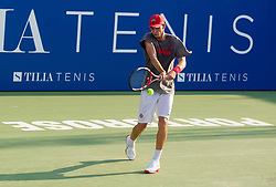 Blaz Rola of Slovenia during practice session 1 day before tennis tournament ATP Challenger Tilia Slovenia Open 2013 on July 1, 2013 in SRC Marina, Portoroz / Portorose, Slovenia. (Photo by Vid Ponikvar / Sportida.com)