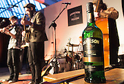 The Jameson The Black Barrel Craft Series  at Old printing works, Market Street with music by Corner boy.  Photo:Andrew Downes