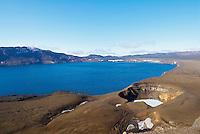 Islande. Cratere de Viti a Askja. // Iceland. Viti crater at Askja.