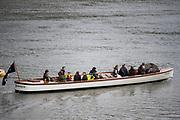 "Putney, London,  Tideway Week, Championship Course. River Thames, OUBC VS CUBC, Veterans Boat Race.  Oxford's ""Bosporos"".<br /> <br />  Saturday  01/04/2017<br /> <br /> [Mandatory Credit; Credit: Peter SPURRIER/Intersport Images.com ]"