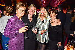 Penny Smith, Hermione Norris, Anneka Rice and Celia Imrie at the Costa Book of The Year Award held at  Quaglino's, 16 Bury Street, London, England. 29 January 2019. <br /> <br /> ***For fees please contact us prior to publication***