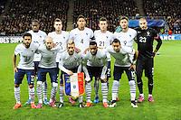 Equipe France - 29.03.2015 - France / Danemark - Match amical -Saint Etienne-<br /> Photo : Jean Paul Thomas / Icon Sport