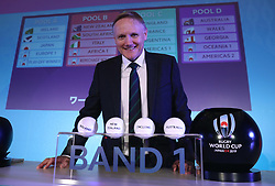 KYOTO, JAPAN - MAY 10: Joe Schmidt, Head Coach of Ireland poses during the Rugby World Cup 2019 Pool Draw at the Kyoto State Guest House on May 10, in Kyoto, Japan. Photo by Dave Rogers - World Rugby/PARSPIX/ABACAPRESS.COM
