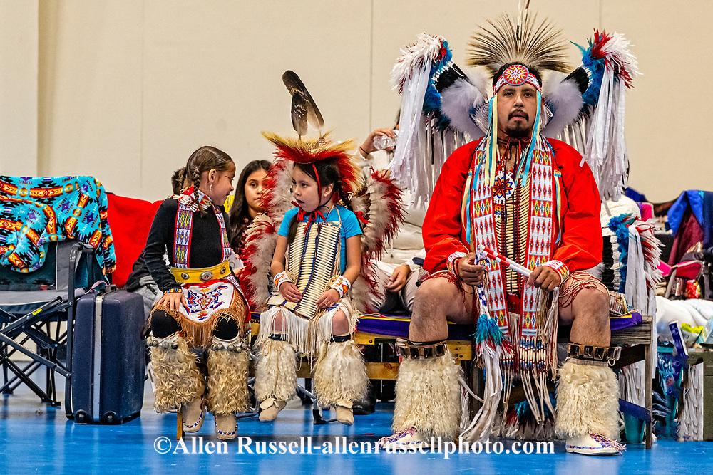 Kiowa, Dixon Palmer family, Fall Social Dance, Apache, Oklahoma
