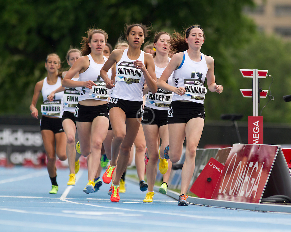 adidas Grand Prix track & field: high school girls Dream Mile,