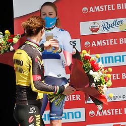 18-04-2021: Wielrennen: Amstel Gold Race women: Berg en Terblijt: Marianne Vos: Annemiek van Vleuten