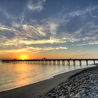 Juno Beach 990 foot fishing pier, Juno Beach, Florida
