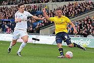 Oxford United v Swansea City 100116